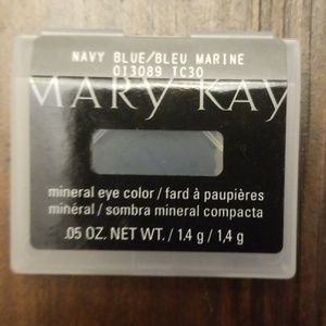Mary Kay mineral eye color Navy Blue
